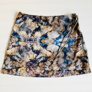 Neiman Marcus Brand Shan Swimsuit Collection Skirt